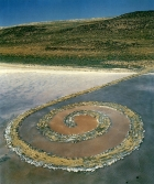 "Robert Smithson, ""Spiral Jetty"", 1970"