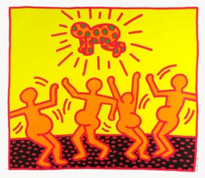 Keith Haring, Fertility Nr. 1, 1983