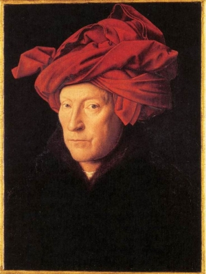 Jan van Eyck, L'Homme au turban rouge, 1433